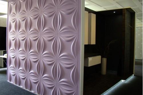 3D panel Lily 50/50cm